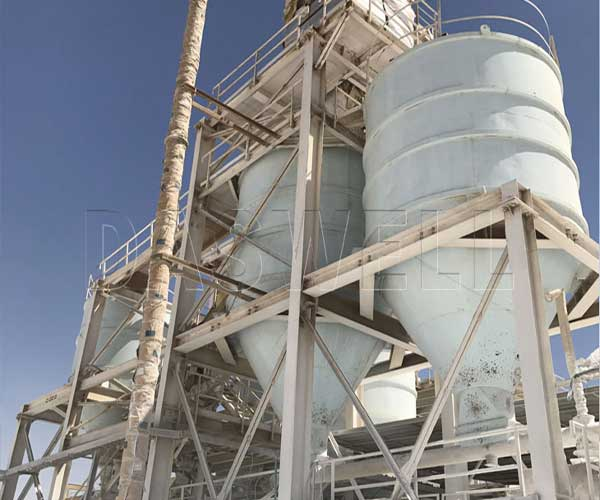 calcium carbonate processing line
