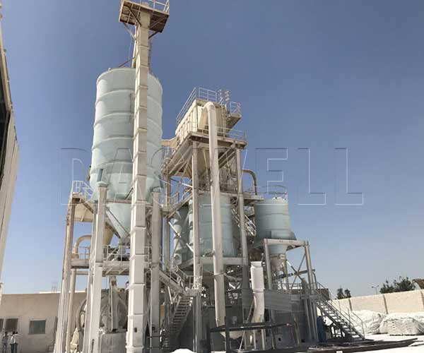 ground calcium carbonate process