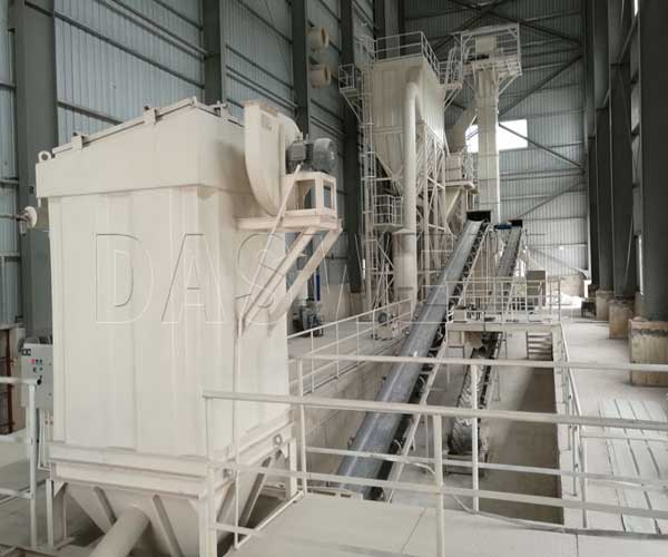 calcium carbonate processing plants machinery