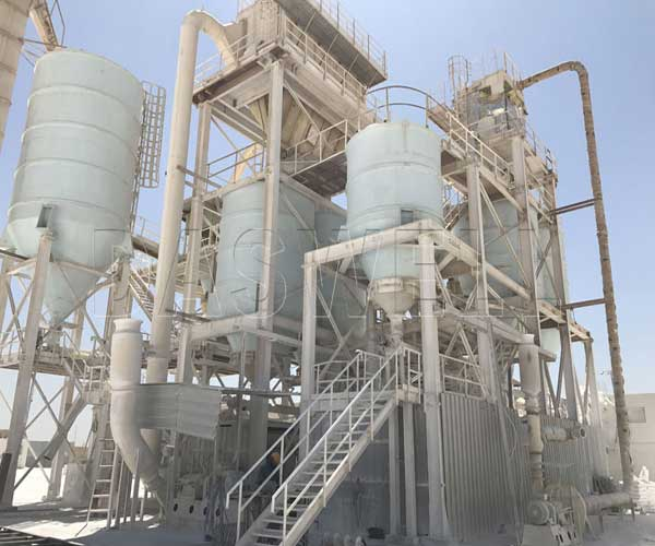 calcium carbonate powder processing plant
