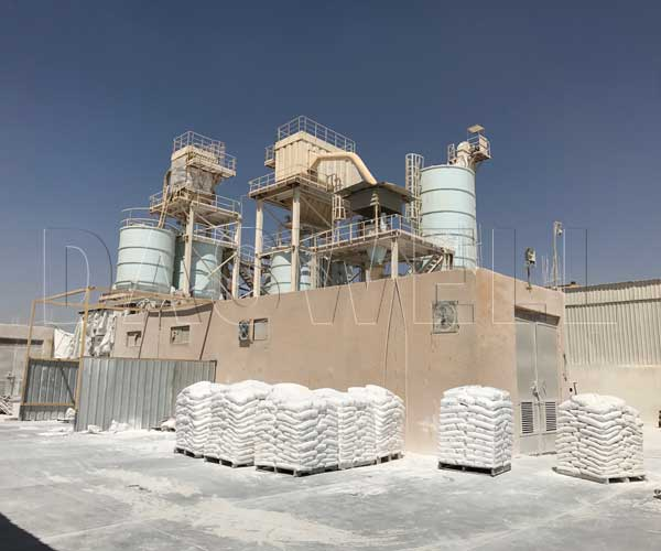 ground calcium carbonate production process