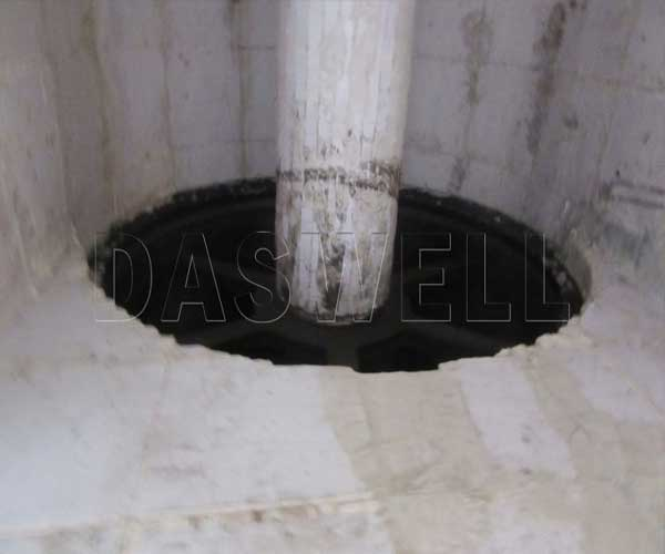 ceramic decor inside quartz grinding ball mill