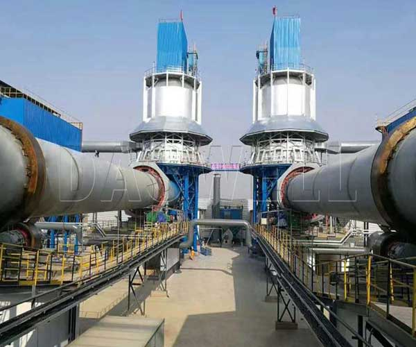 rotary lime kiln manufactuer