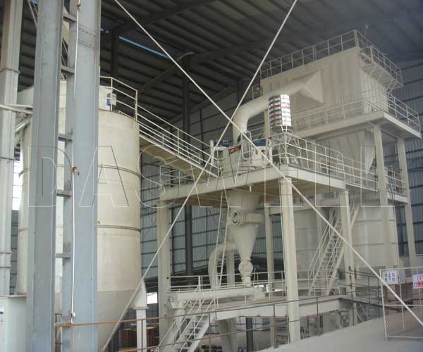 ball mill and classifying system