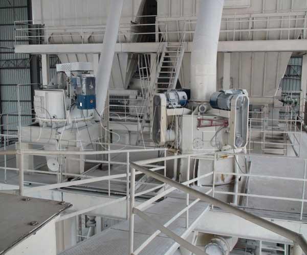 air classifier for calcium carbonate processing plant