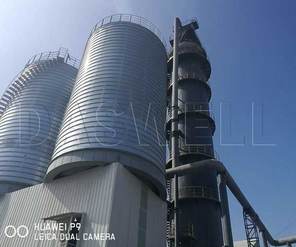 vertical shaft lime kiln technology