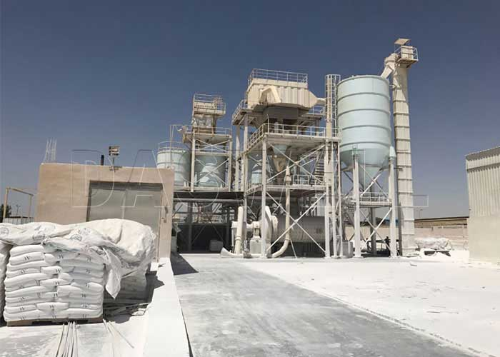 Ball Mill and Classifier for Calcium Carbonate Plant