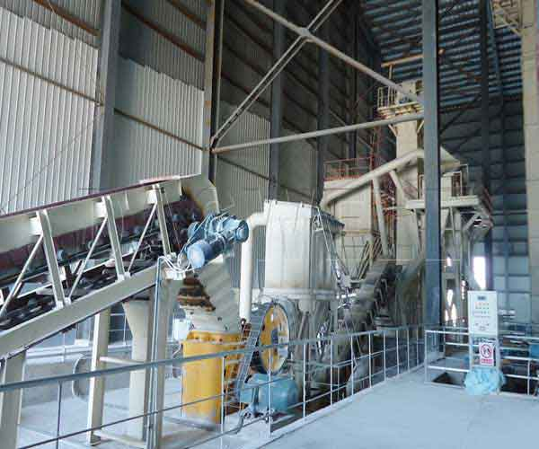 equipment for processing calcium carbonate powder