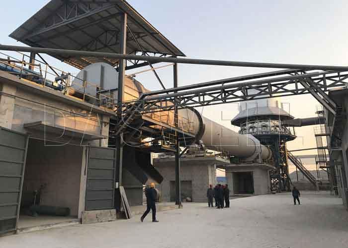 rotary lime kiln