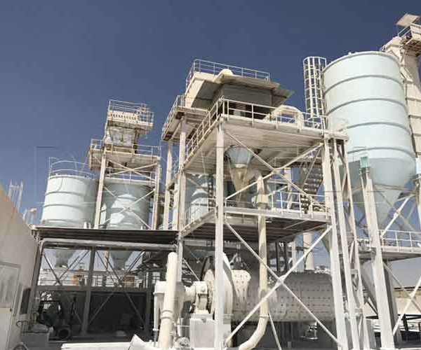 ultrafine calcium carbonate plant