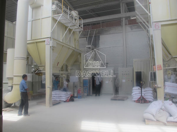 the electrical control system of mill