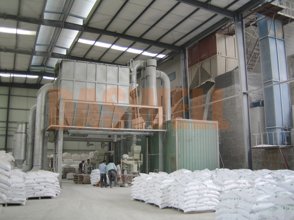 the finished product of ultra fine grinding mill
