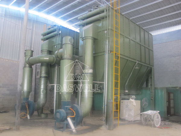 the green micro powder roller mill