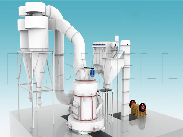 the simple structure of grinding mill