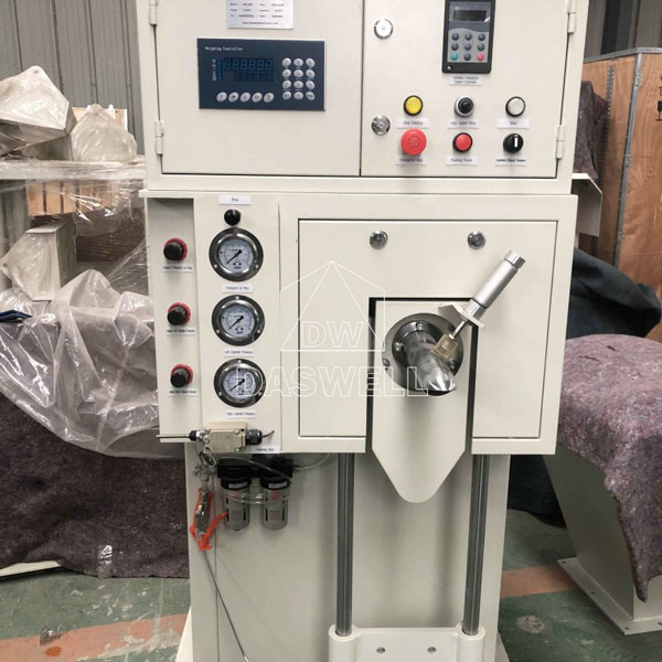 deliver the daswell packing machine to north africa