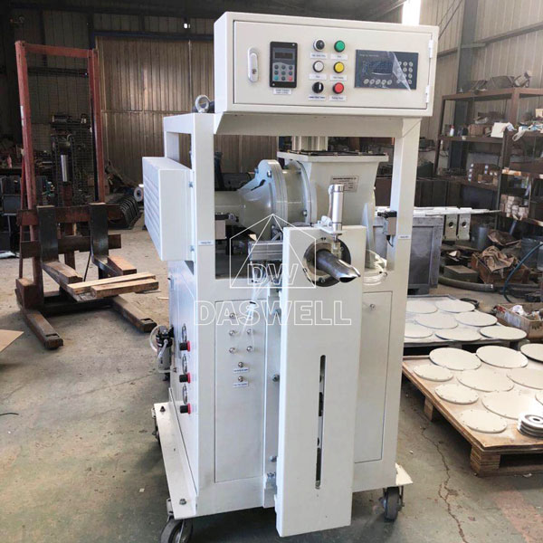 deliver the daswell packing machine