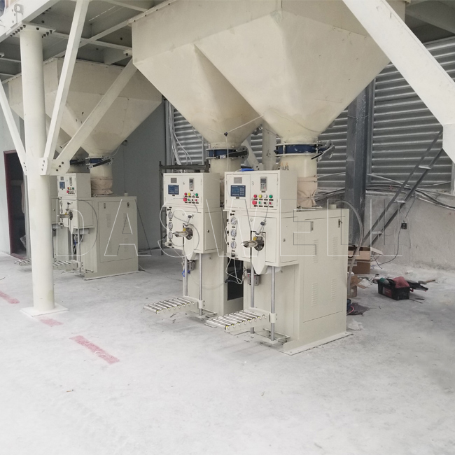 the daswell mineral powder packaging machine