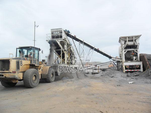 daswell machinery stone crushing equipment