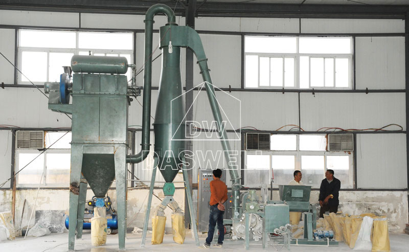 the Daswell three-roller coating machine