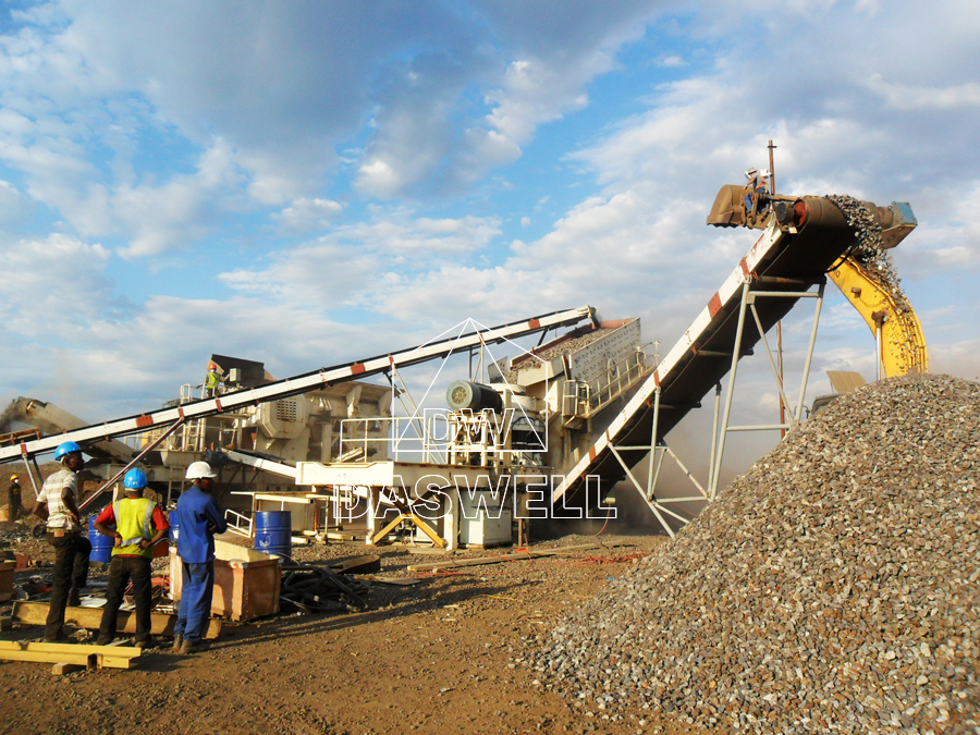 use of daswell stone crushing plant