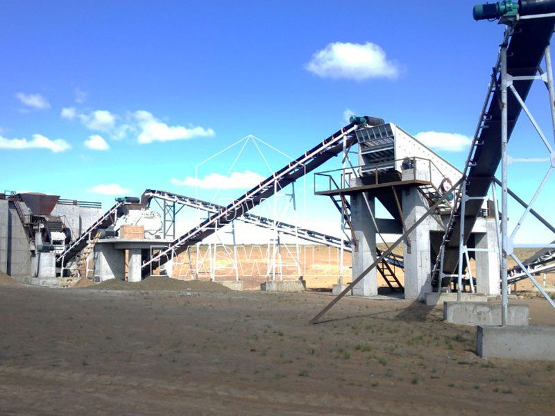 wide application of stone crushing plant