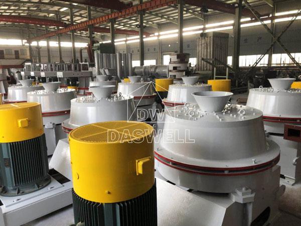 UCOAT 750 calcium carbonate modification machine