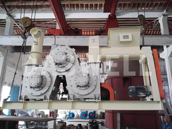 DC600 three roller modification machine