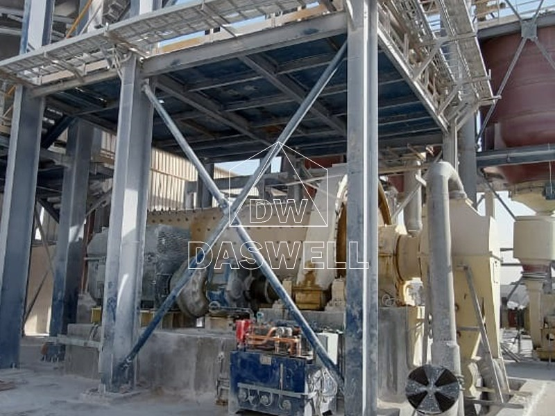 2460 ball milling production line